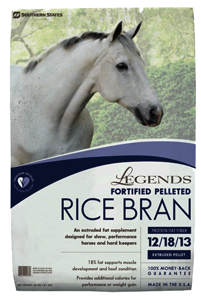 Legends Fortified Pelleted Rice Bran image